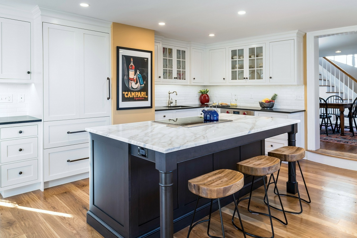 Instead Of Stainless Steel Appliances, Focus On Integrated Appliances That  Blend In With The Rest Of The Cabinetry In Your Kitchen.