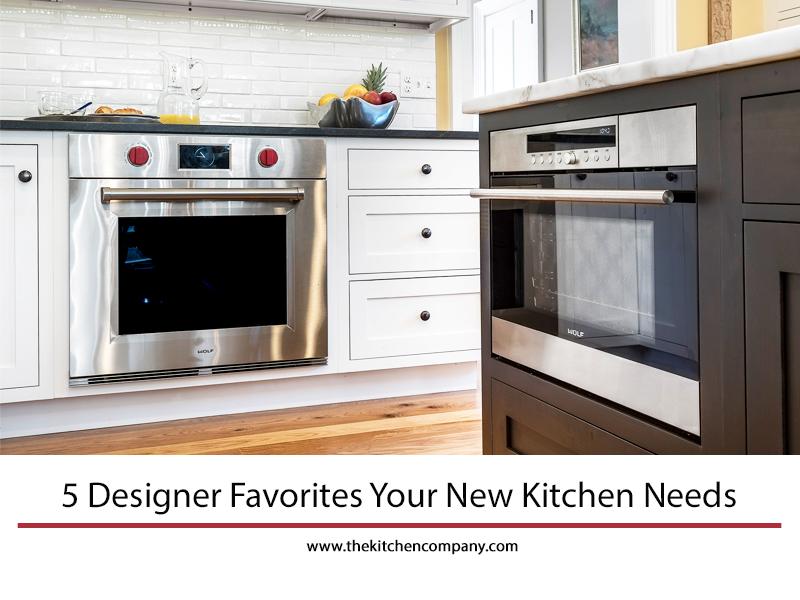 5 Designer Favorites Your New Kitchen Needs | Kitchen Appliances