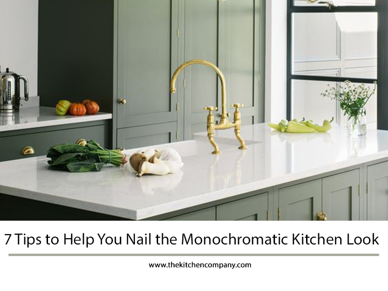 Monochromatic Kitchen Design Ct Monochromatic Kitchen