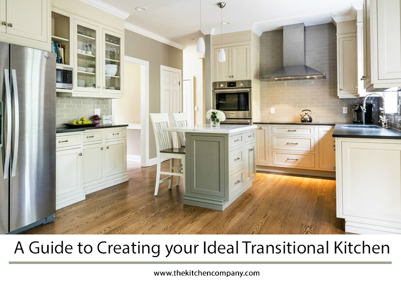 a guide to creating your ideal transitional kitchen
