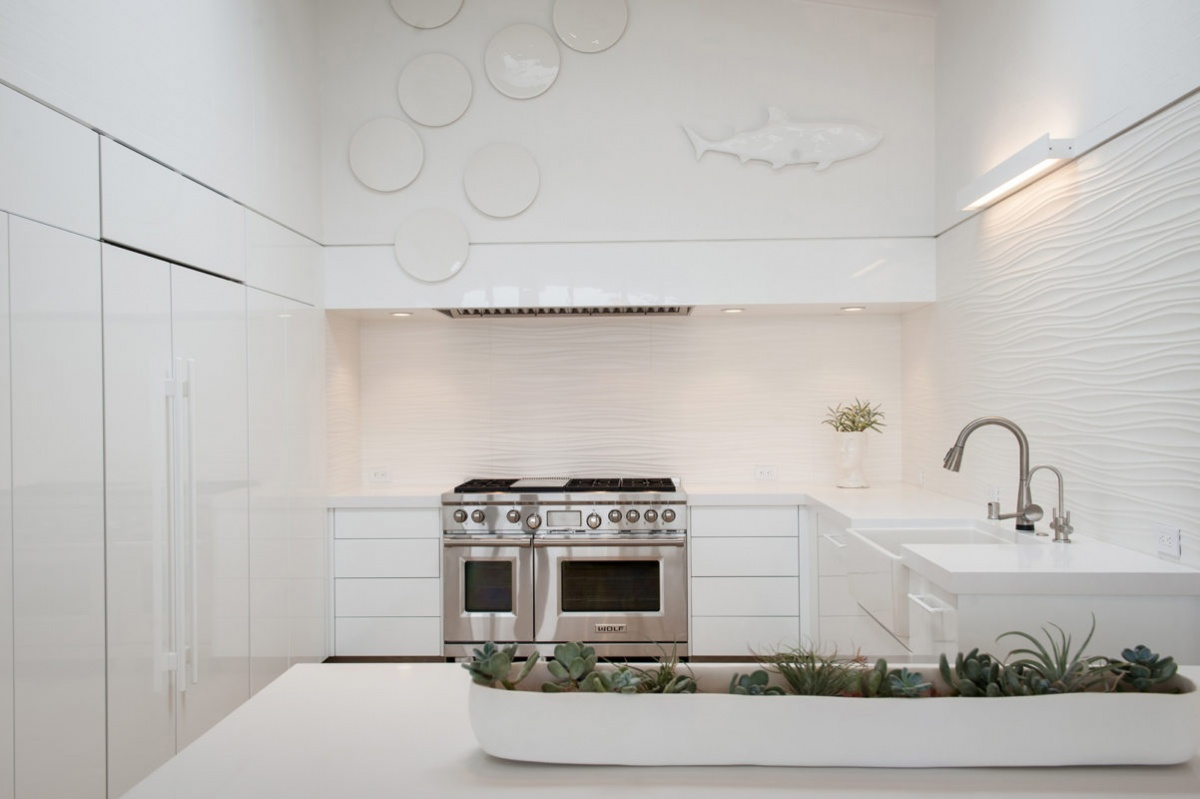 7 Tips To Help You Nail The Monochromatic Kitchen Look The Kitchen Company