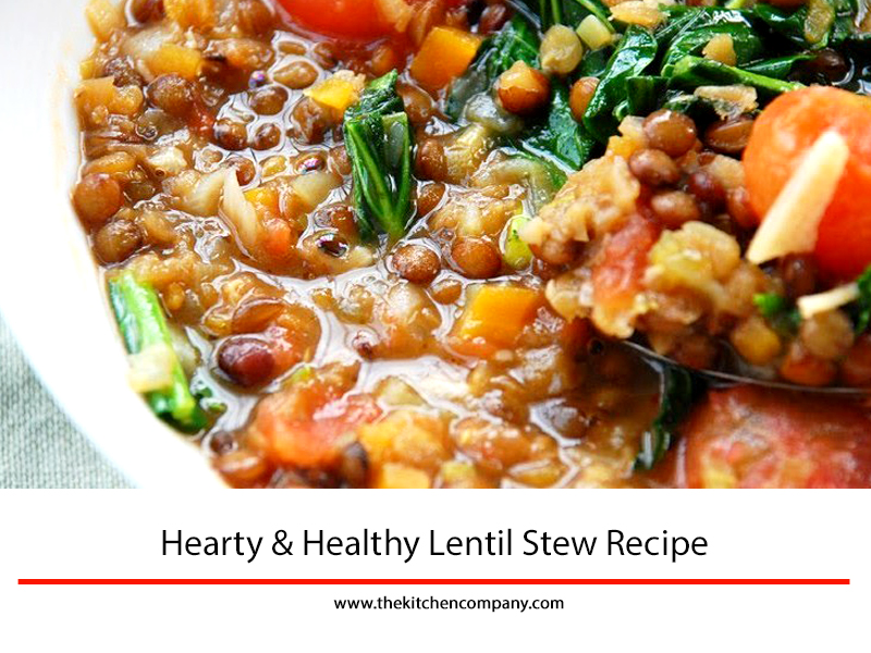 Hearty Healthy Lentil Stew Easy And Fun Recipes