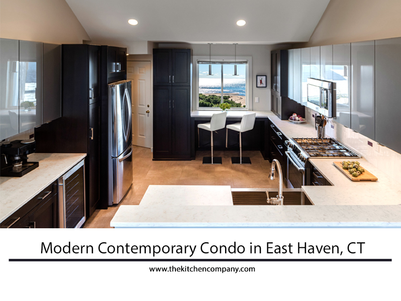 Featured Kitchen Chic Modern Kitchen Modern Condo In East Haven Ct