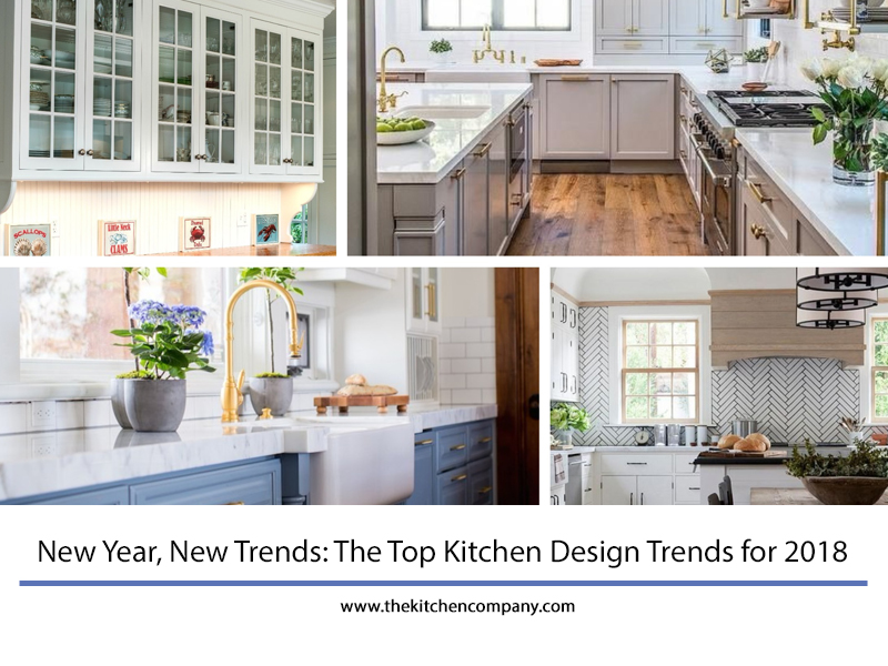 The top kitchen design trends for 2018 new kitchen for Kitchen design trends 2018