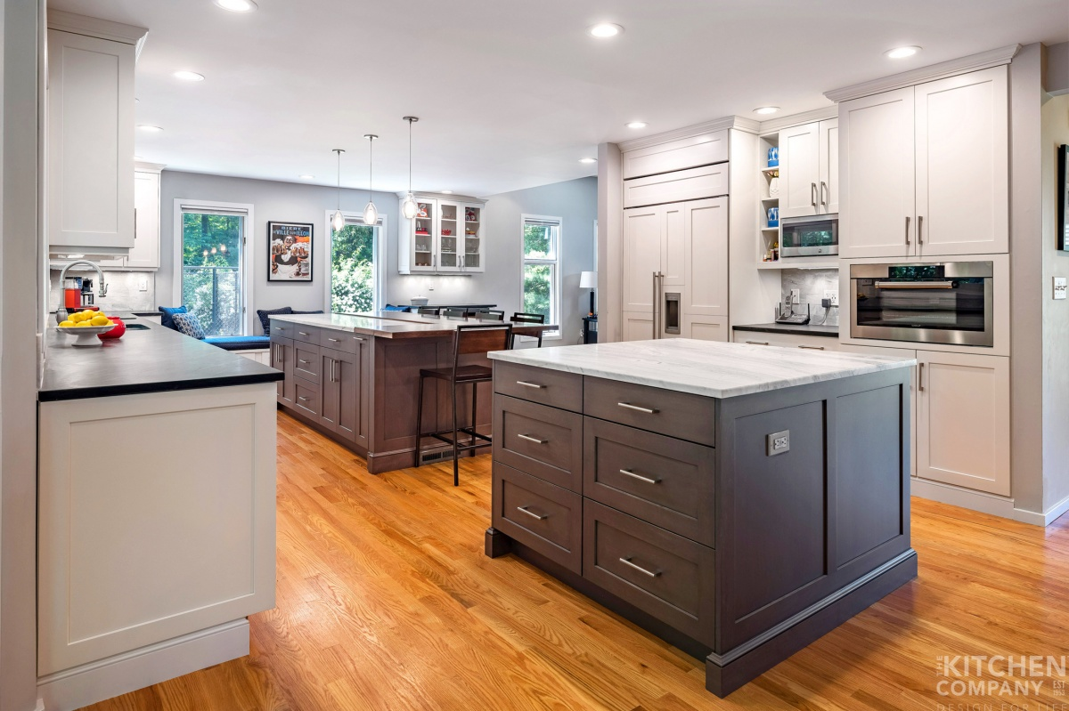 Bright Open Kitchen In Cheshire Ct The Kitchen Company