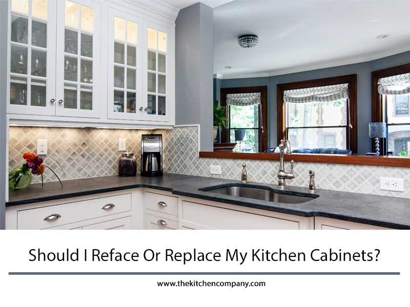 Should I Reface Or Replace My Kitchen Cabinets? | Kitchen ...