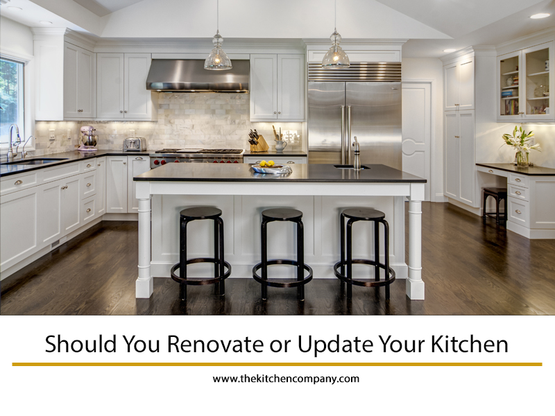 Should You Renovate Or Update Your Kitchen?