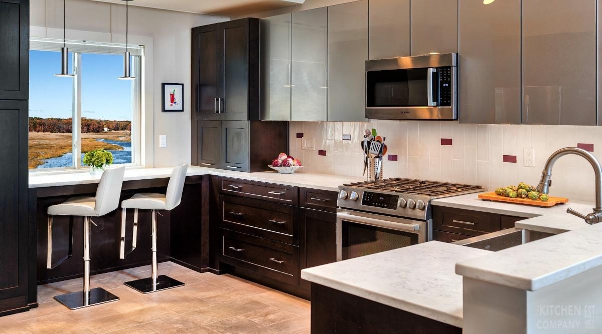Featured Kitchen Chic Modern Kitchen Modern Condo In East Haven Ct