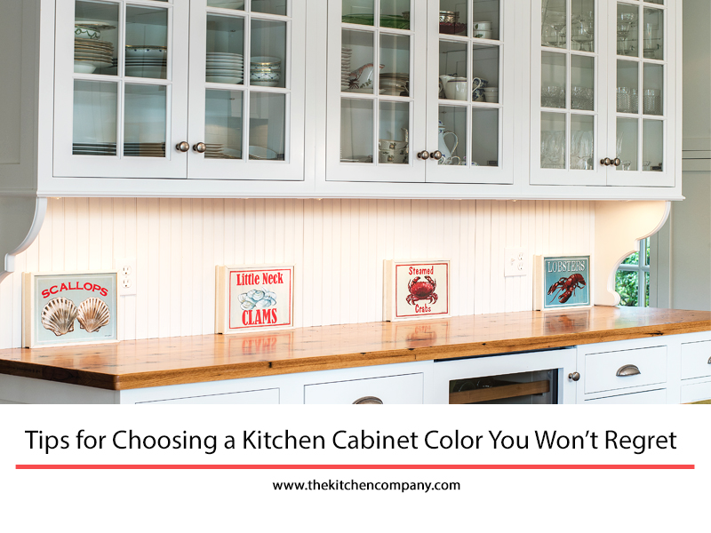 Tips For Choosing Kitchen Cabinet Color
