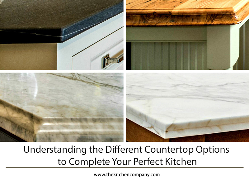 Different Countertop Material Options to Complete Your ...