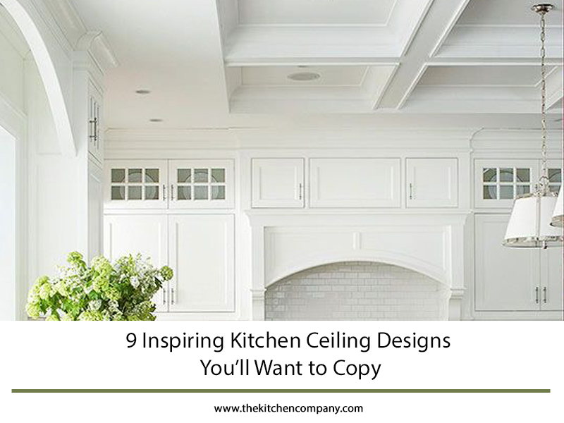 9 Inspiring Kitchen Ceiling Designs You Ll Want To Copy The