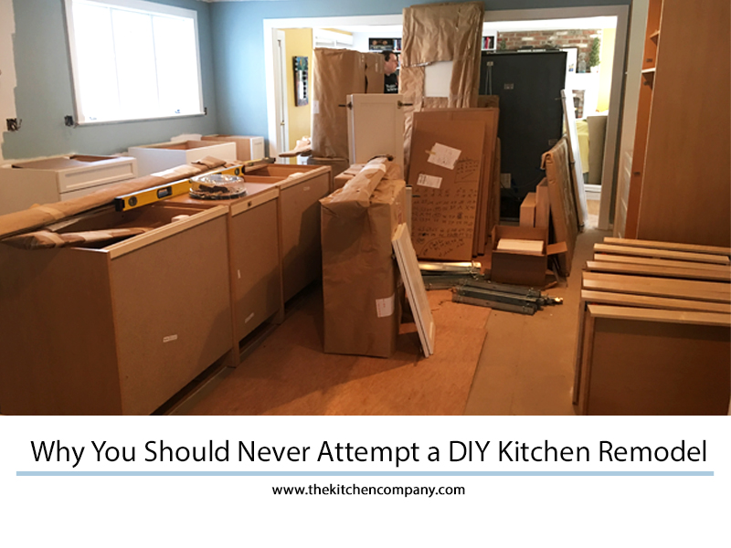 Why You Should Not Attempt A Diy Kitchen Remodel Kitchen