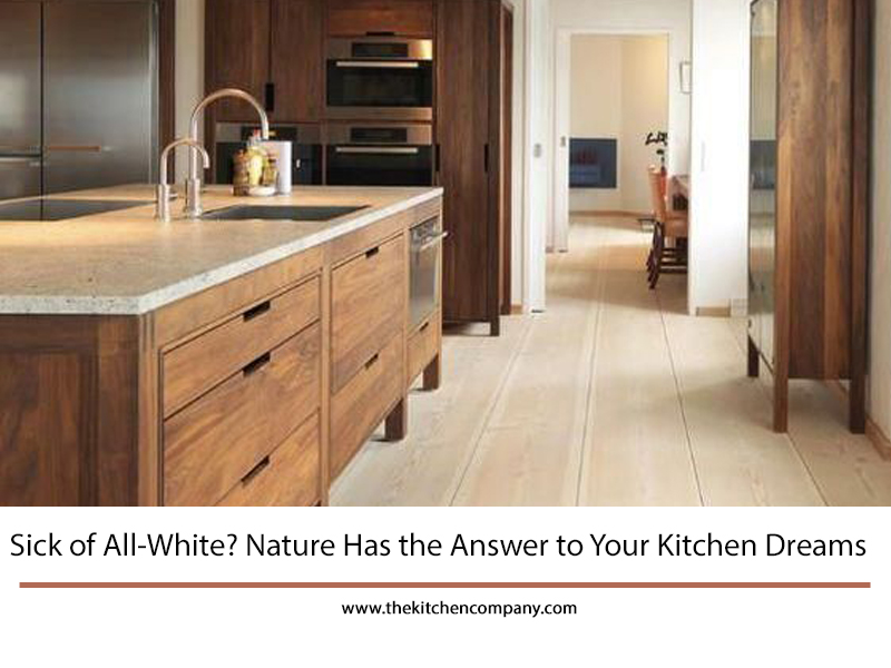 Sick Of All White Nature Has The Answer To Your Kitchen Dreams The Kitchen Company