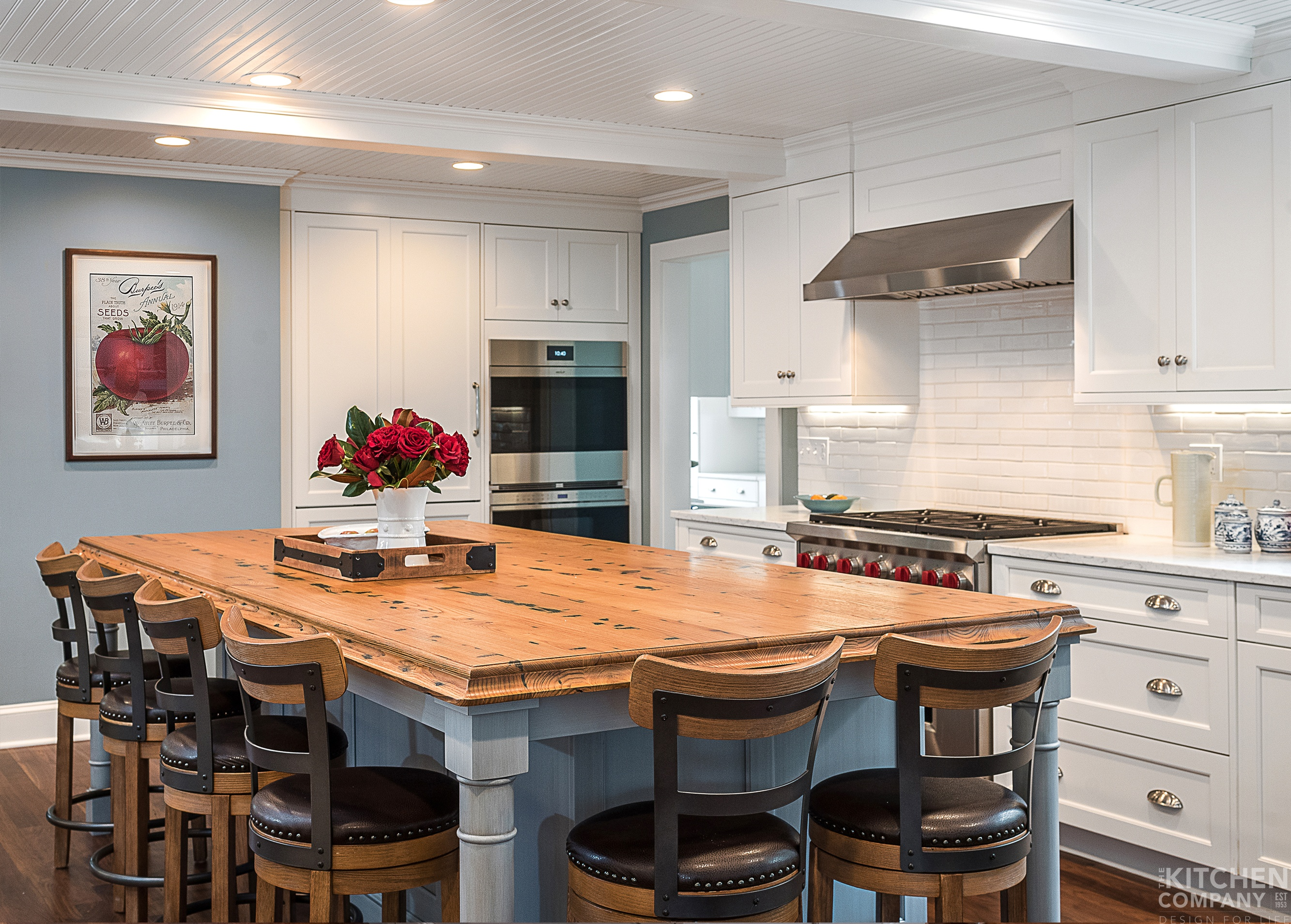 Restored Beach House In Madison Ct The Kitchen Company