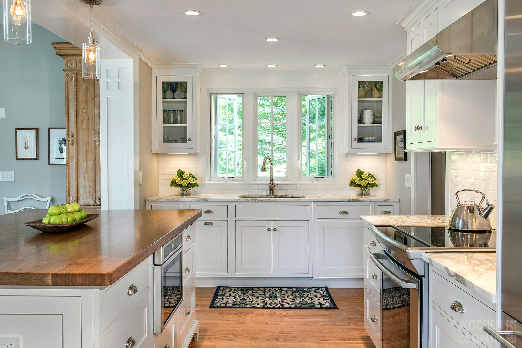 Beautiful Cottage Kitchen In Madison Ct White Kitchen Remodel Photos