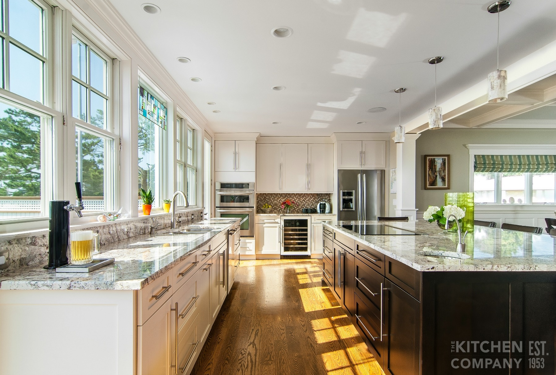 Custom Contemporary Kitchen In Milford Ct Kitchen Remodeling Ct