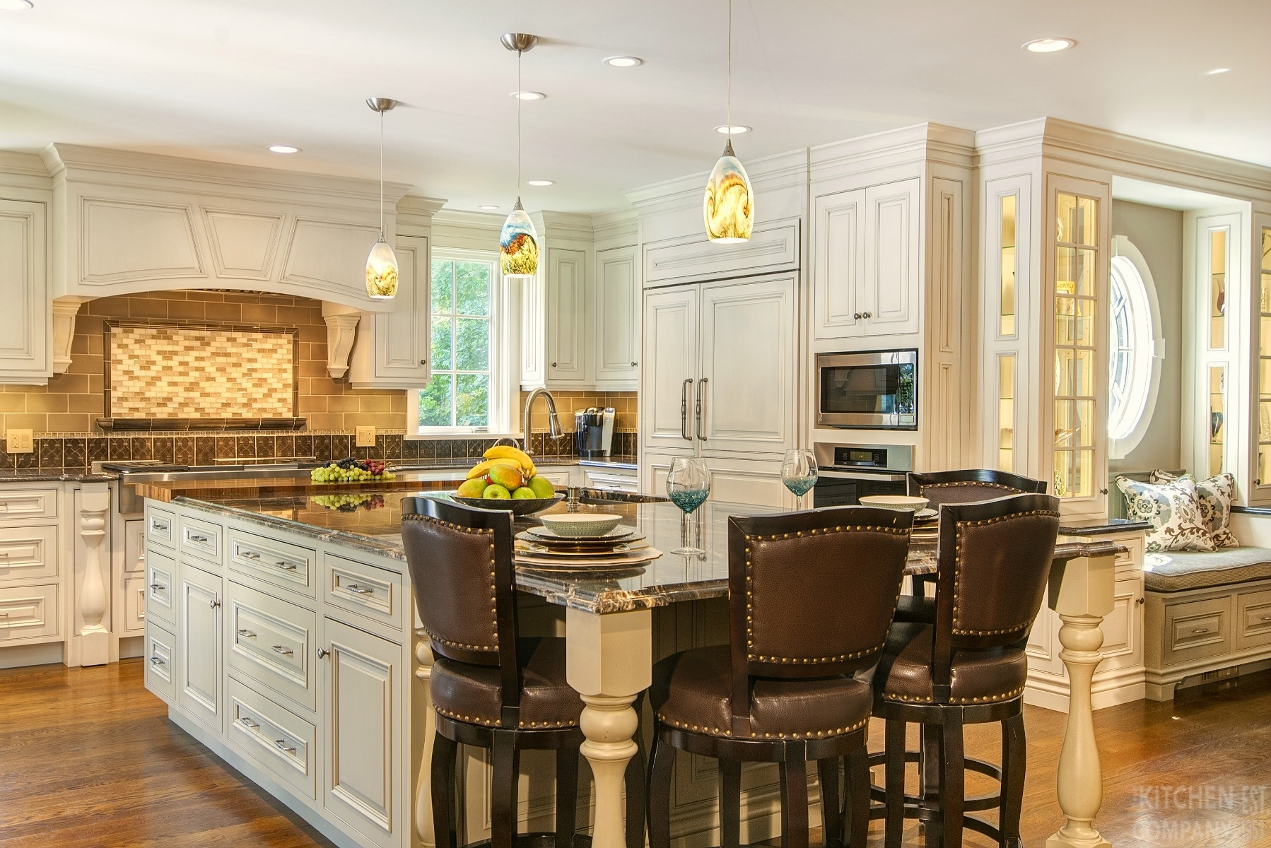 An Elegant Addition In Woodbridge Ct Kitchen Remodeling Photos