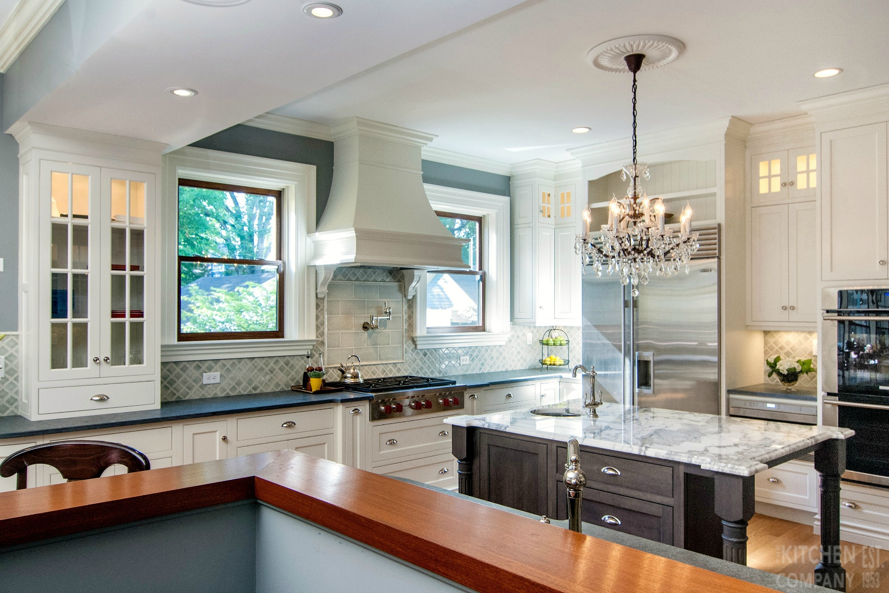 Traditional Victorian Kitchen In New Haven Ct The Company