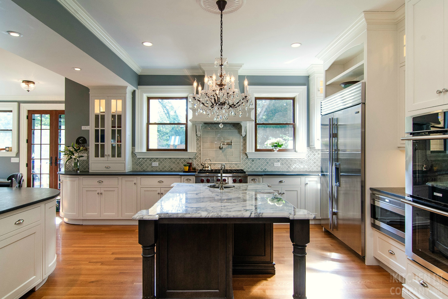 Traditional Victorian Kitchen In New Haven Ct Kitchen Photo Gallery