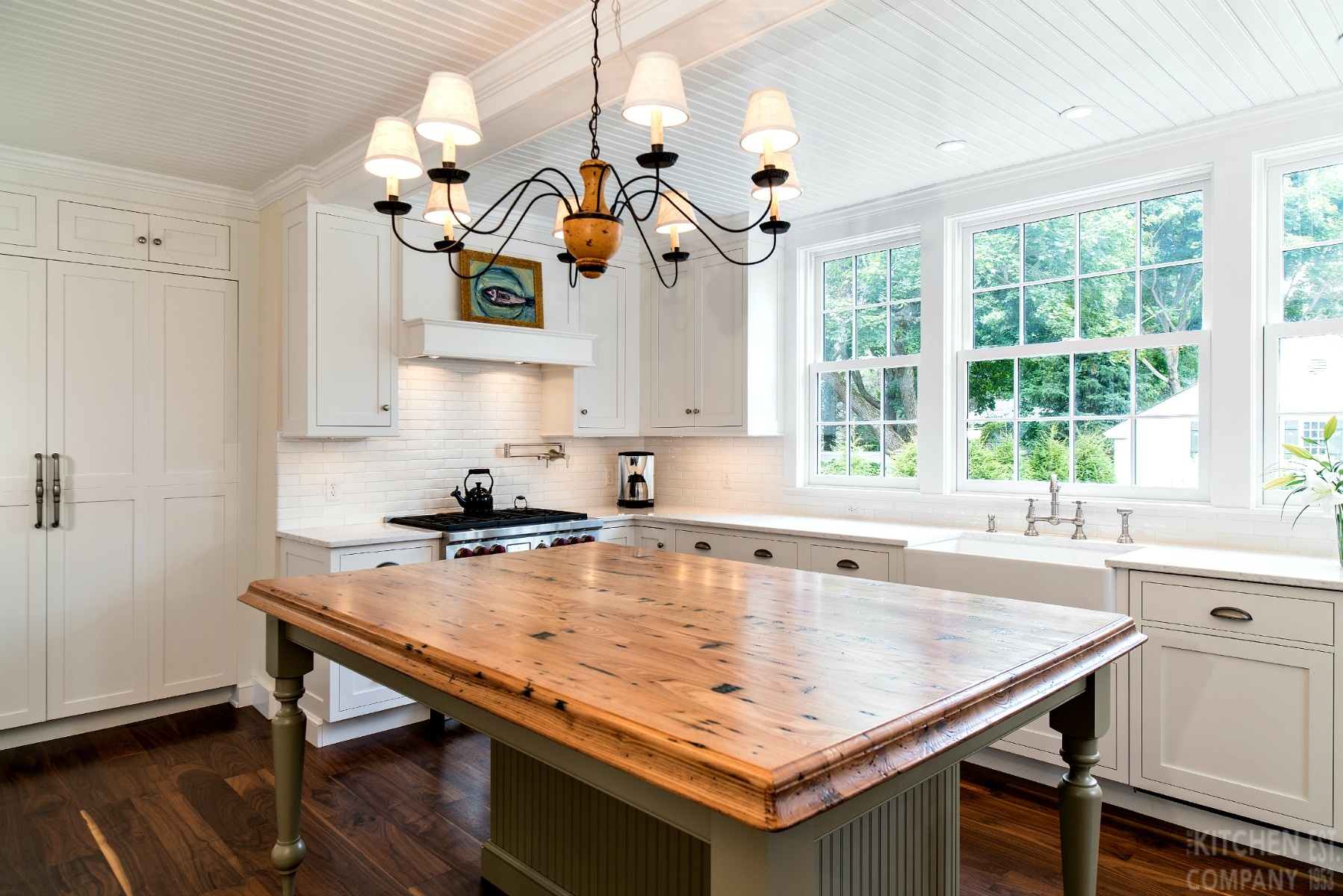 1920\'s Beach House Kitchen in Madison, CT | Cottage Kitchens ...